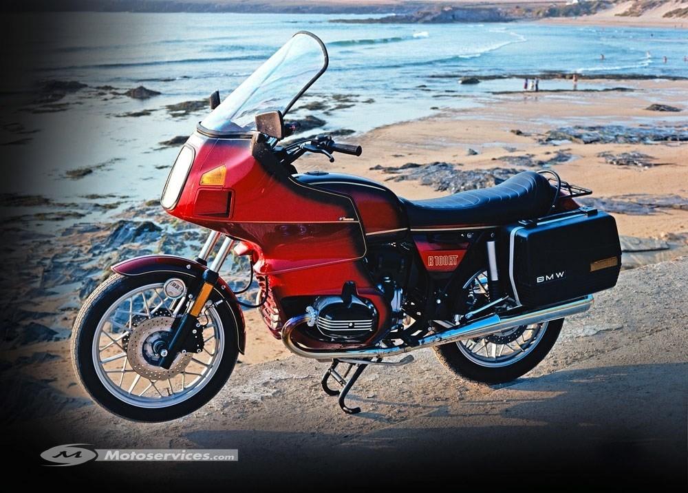 La moto classique de la semaine : BMW R 100 RT