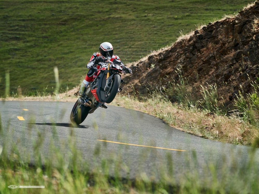 Ducati Streetfighter V4 Pikes Peak : nouvelles photos et vidéo !