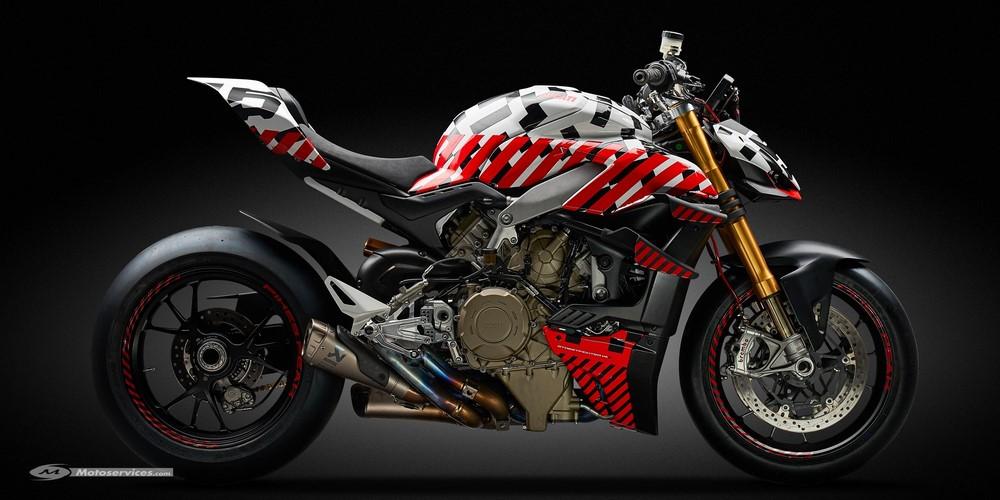 Ducati Streetfighter V4 : en route pour Pikes Peak !