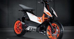 KTM prévoit de fabriquer des petites motos électriques en Inde