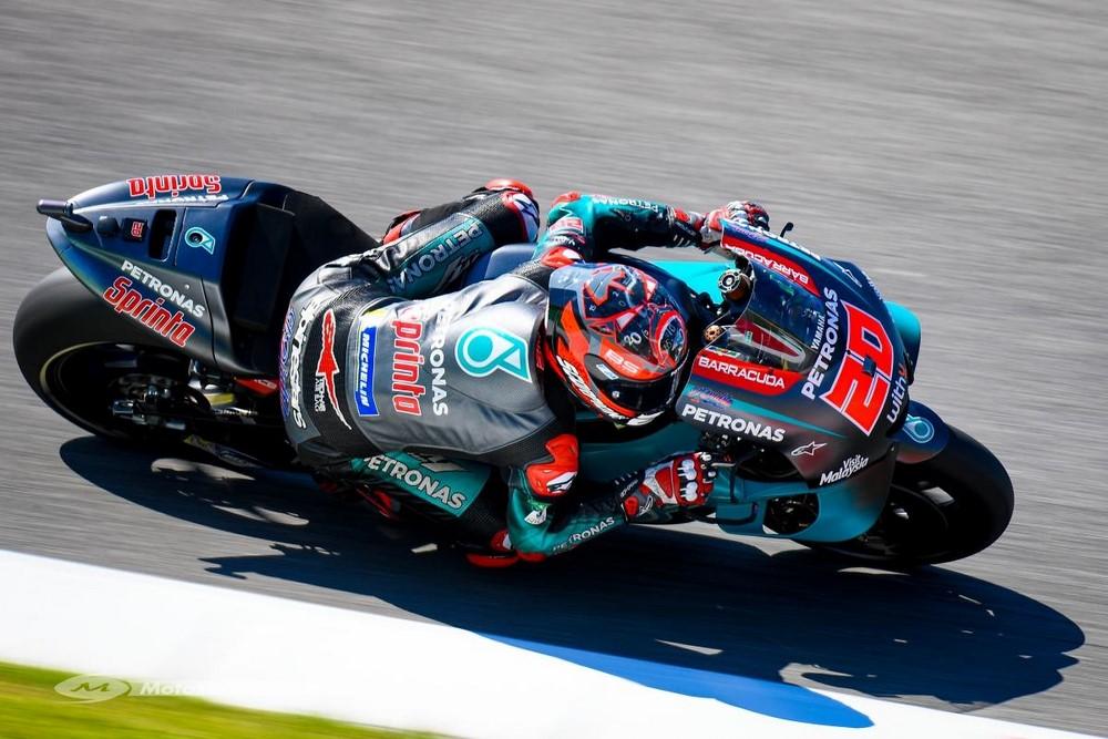 MotoGP 2019 à Barcelone : vendredi, Quartararo prend tout