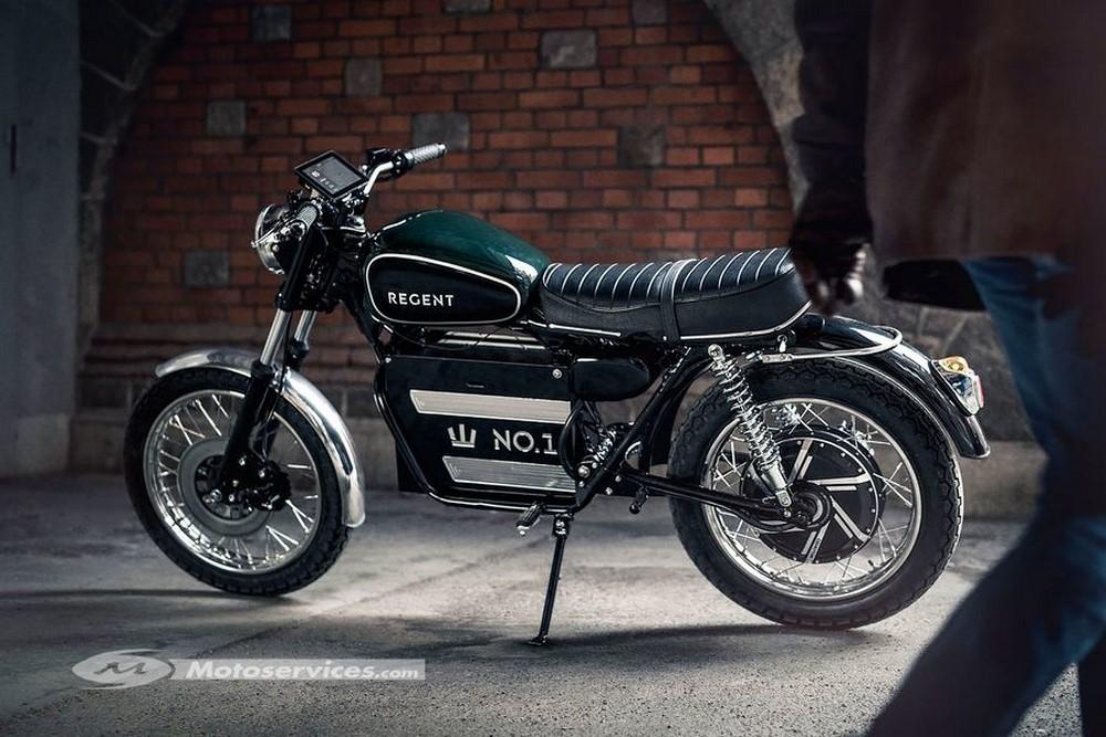 Regent N°1, la moto électrique rétro venue de Suède