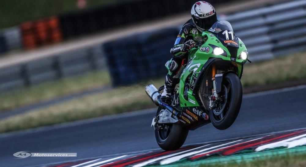 EWC en Allemagne : Le SRC Kawasaki arrache la pole 50 millièmes devant le Honda Endurance team