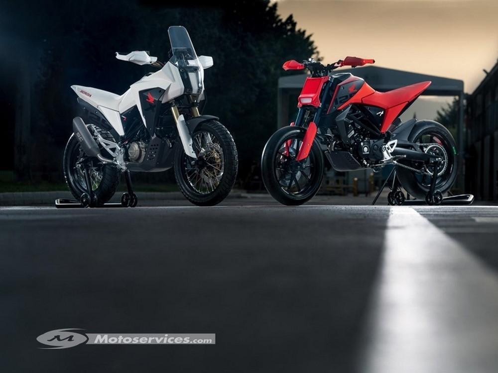 concept CB125X et CB125M