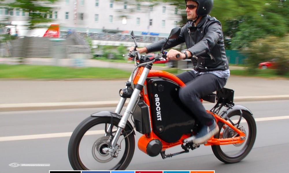 eRockit, la moto électrique à pédales