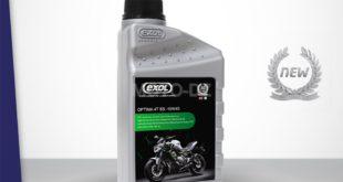 EXOL Algérie : nouvelle huile «moto» Optima 4T SS 10W-40