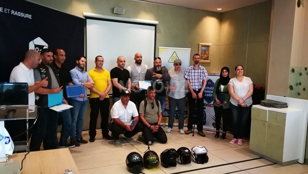 Info Trafic Algérie honore les gagnants du Quizz et des groupes de motards