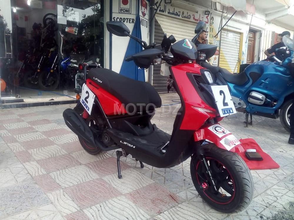 Rallye Régularité : première participation d'un motocycle Lifan 150cc avec Samir Khemici