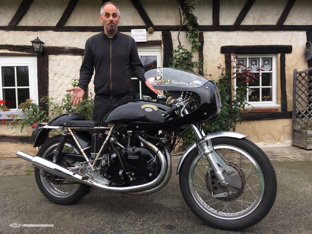 La moto classique de la semaine : Vincent-Egli-Godet 1000 Café Racer