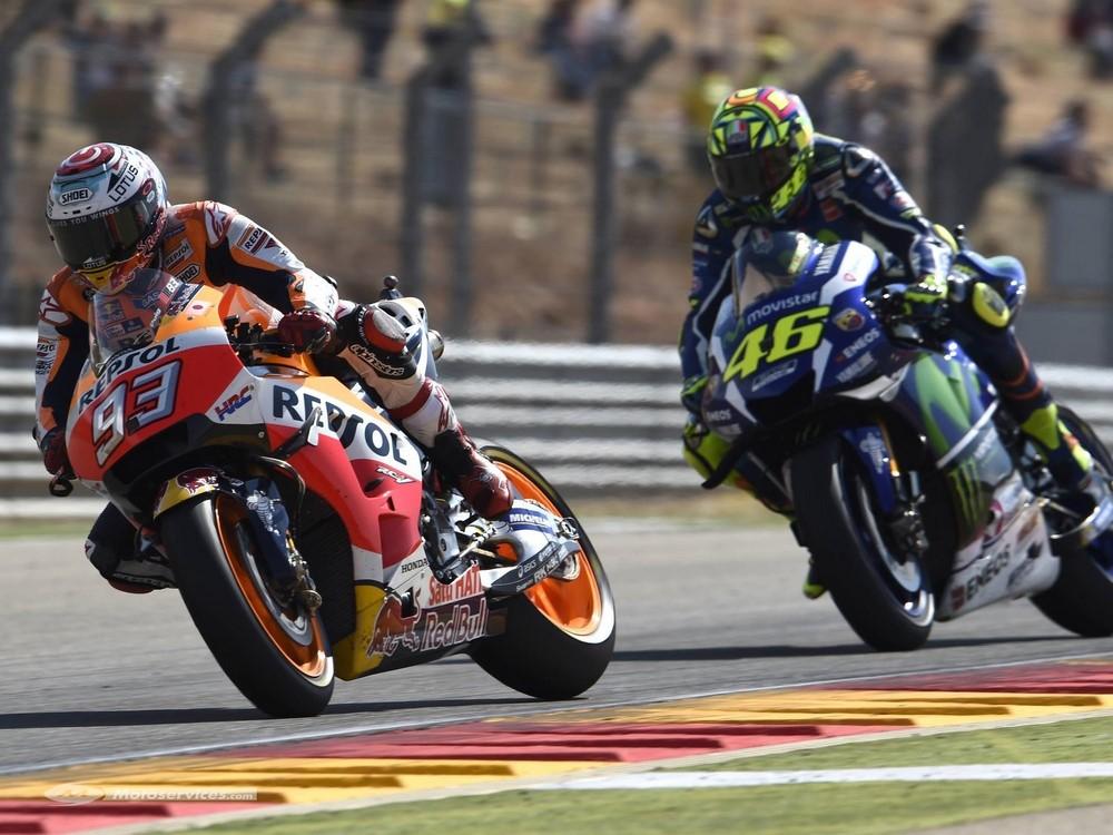 MotoGP 2019 à Brno : Marquez et Rossi