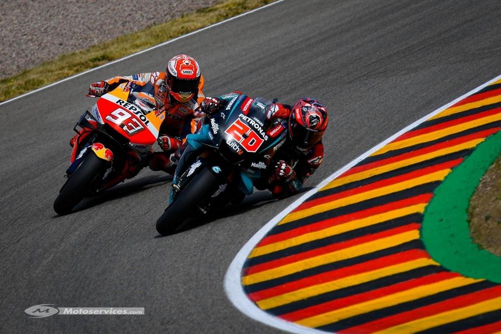 MotoGP 2019 en Allemagne : Pole et record de la piste pour Marquez