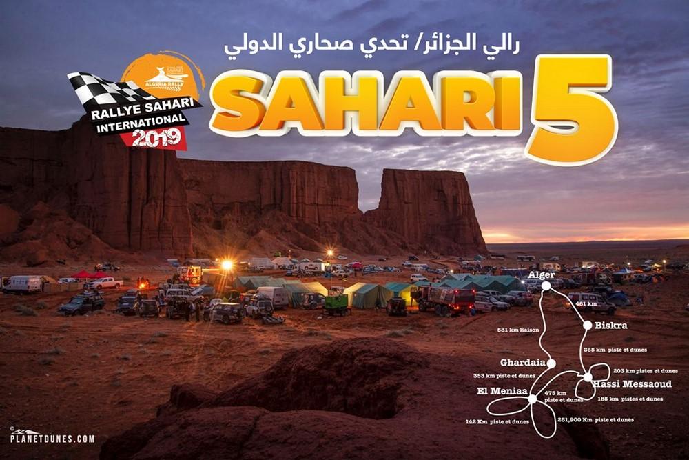 Rallye International Sahari 2019