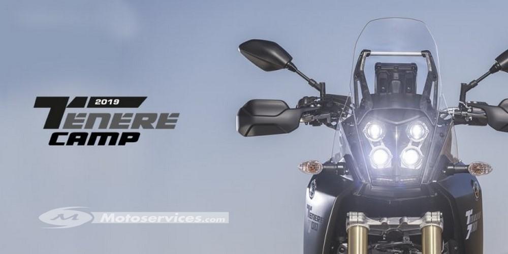Yamaha fête la Ténéré 700 à l'Alpes Aventure Motofestival
