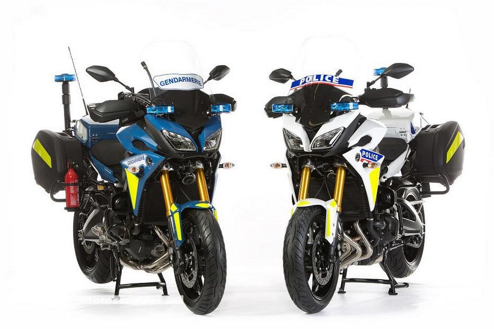 Tracer 900 de la Gendarmerie : Yamaha met les choses au point