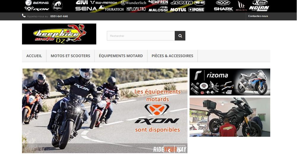 Beep Bike Moto lance son nouveau site internet de vente en ligne