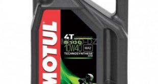 Motul Algérie propose le bidon de 4 litres en 10W40 à 3.700 DZD