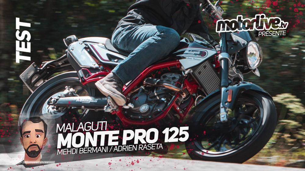 Malaguti Monte Pro 125, la vidéo est sortie
