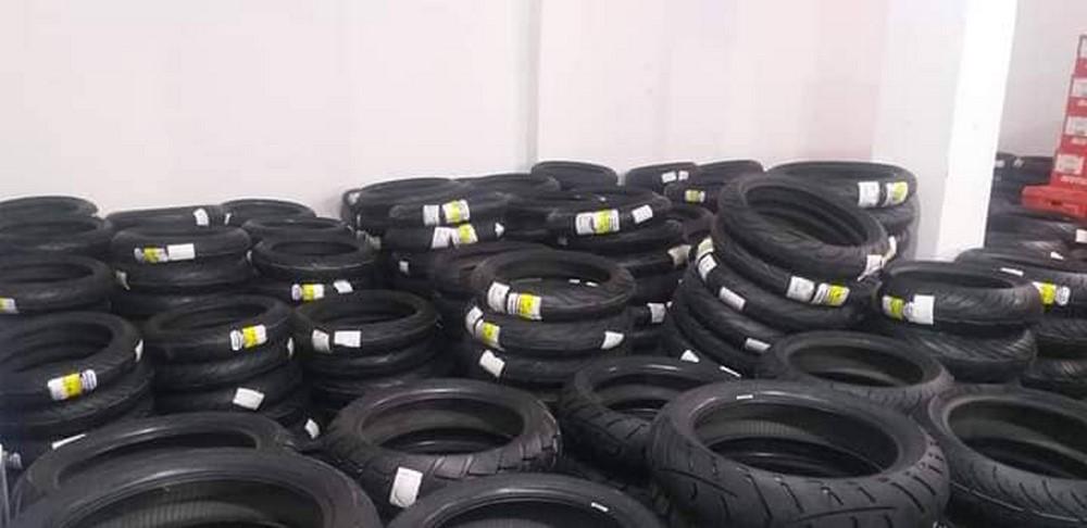 Sidi Achour Motos Pièces : arrivage de pneumatique Moto Michelin & Dunlop