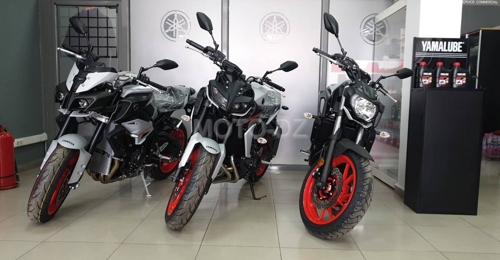 Yamaha Algérie : «Ice Fluo» pour MT-07/09/10, en attendant les prix !