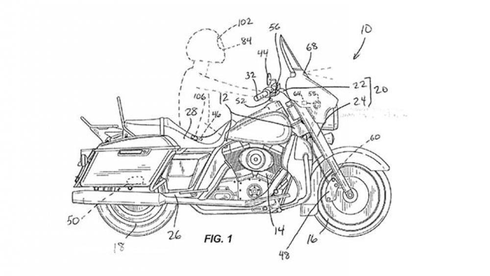 Harley-Davidson travaille sur un régulateur de vitesse adaptatif