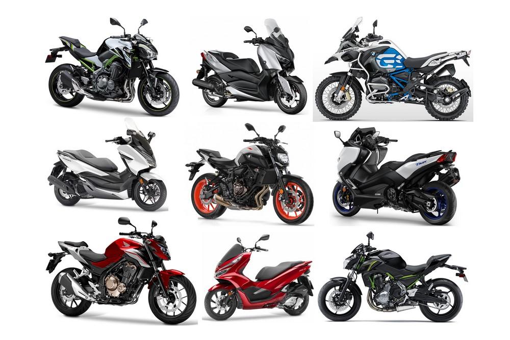 France : Marché moto - scooter août 2019 ; quelle endurance !