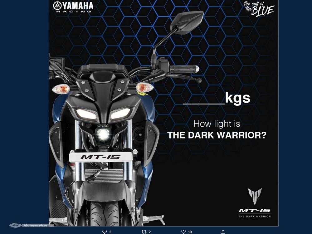 Yamaha : une nouvelle MT dévoilé le 16 octobre !
