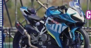 CF Moto se met à la sportive avec la 250 SR