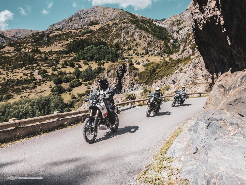 Comparatif trail mid-size : la Yamaha Ténéré 700 face à la KTM 790 Adventure et la Suzuki V-Strom 650
