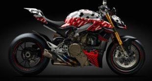 La Ducati Streetfighter V4 en dévoile un peu plus
