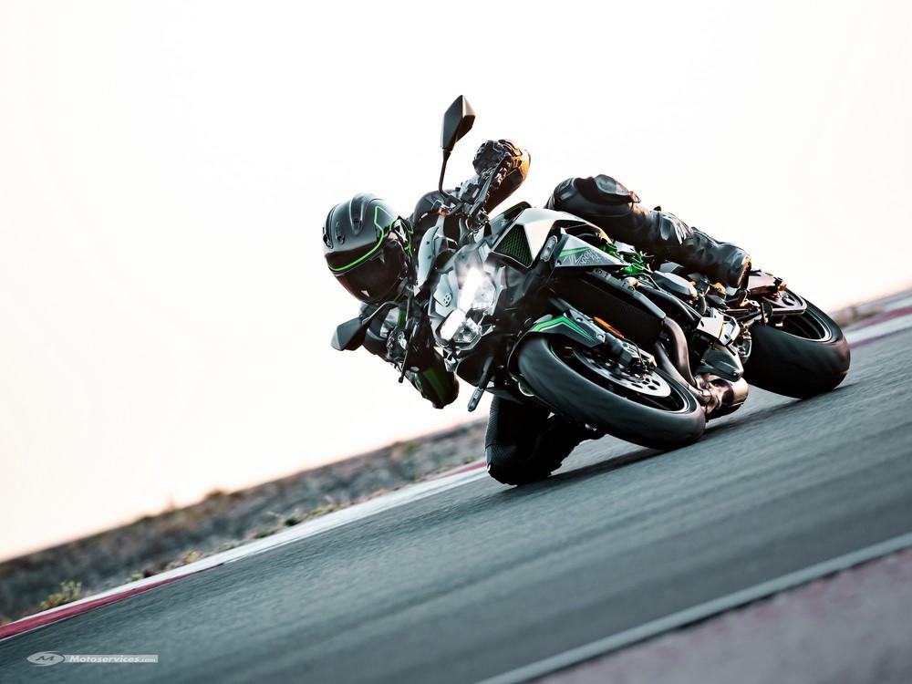 200 chevaux pour la Kawasaki Z 1000 H2