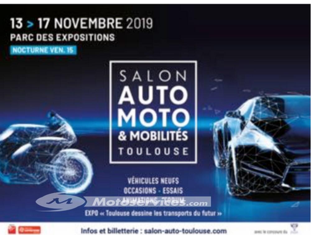 La moto à l'honneur au Salon Auto Moto & Mobilités de Toulouse