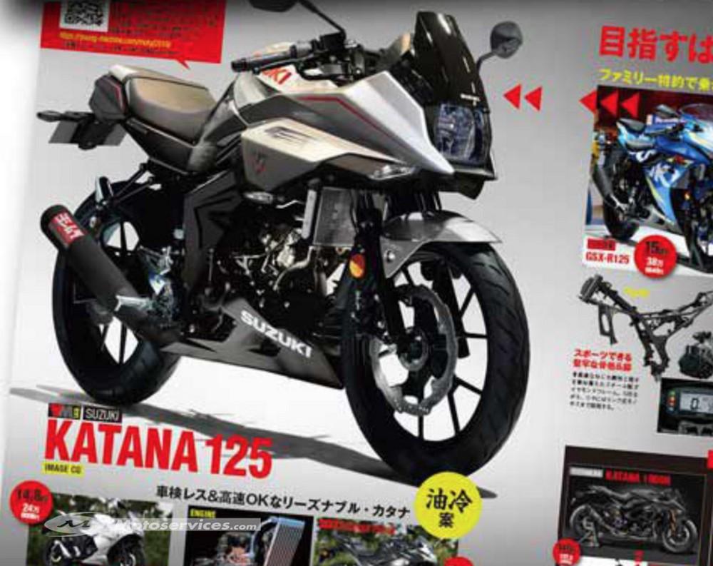 Et si Suzuki avait une Katana 125 dans les cartons ?