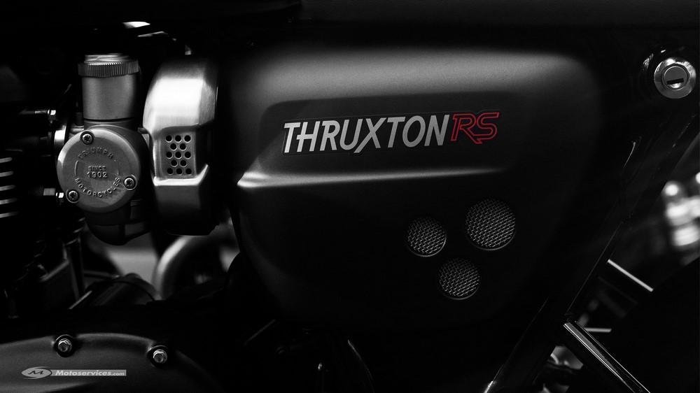 Triumph annonce une Thruxton RS