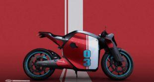 Ultraviolette F77 : l'e-Café racer indien
