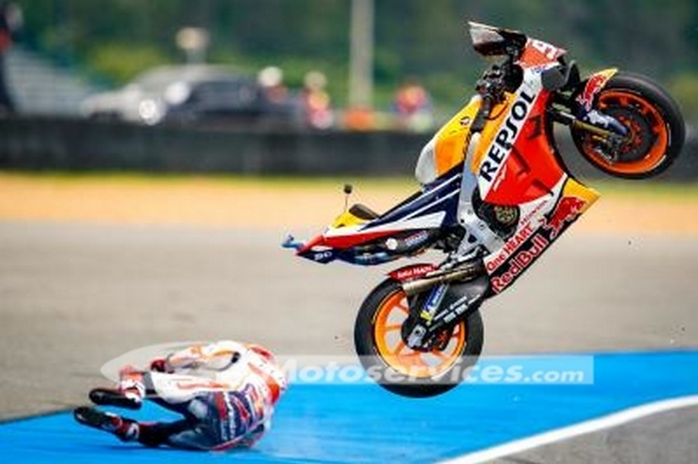 MotoGP 2019 : L'accident de Marquez en Aragon, données et analyses
