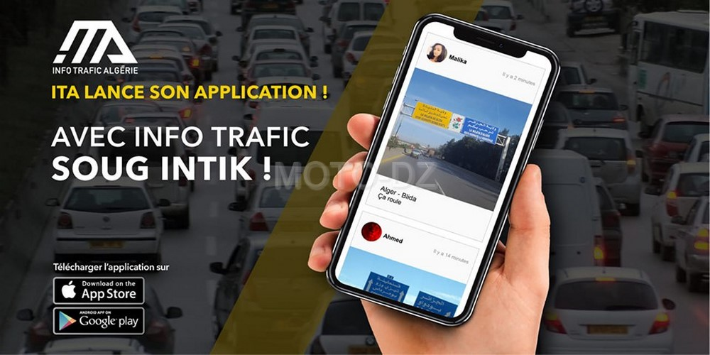 Info Trafic Algérie lance son application mobile