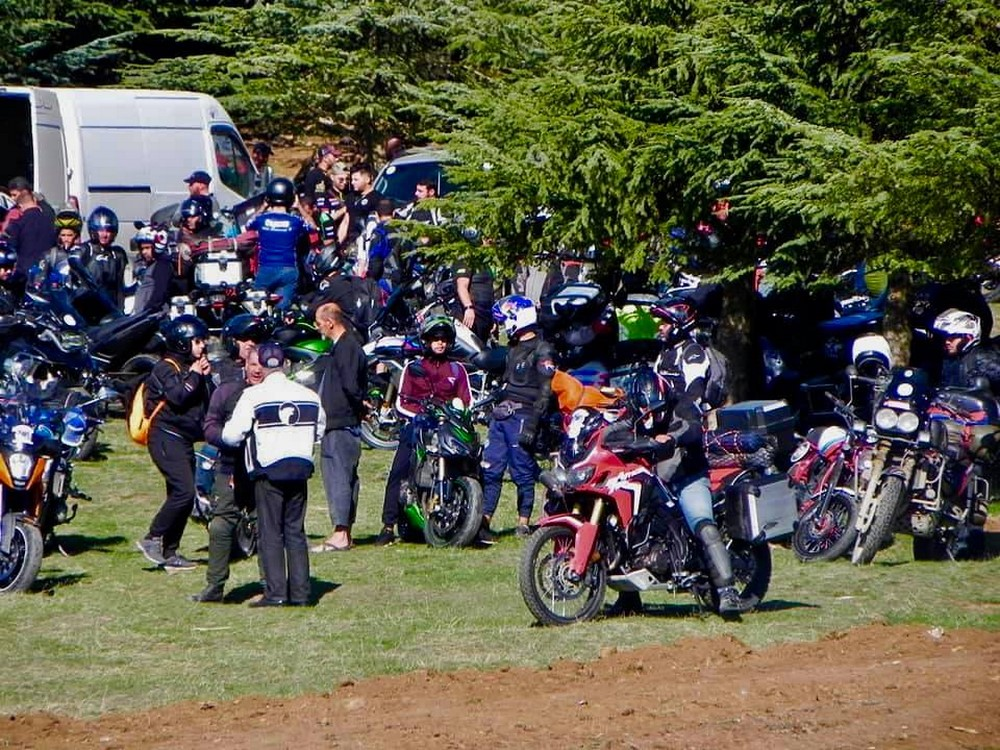 Club des Sports Mécaniques de Megres : Grand rassemblement de motards à Sétif