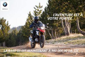 BMW Motorrad Algérie : Big PROMO sur la G 310 R & G 310 GS !