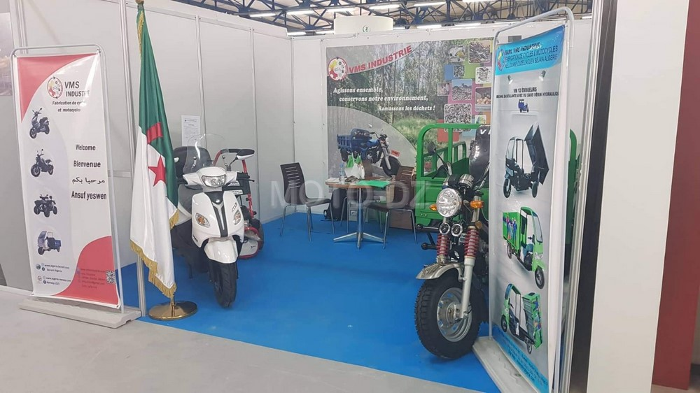 VMS Industrie expose aux SIPSA, REVADE & DJAZAIR EXPORT à Alger