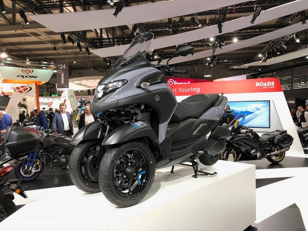Yamaha Tricity 300 : la voie du milieu | Salon Milan 2019