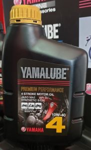 gamme complète de lubrifiants Yamalube®