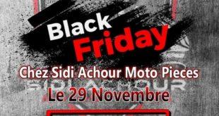 """BLACK FRIDAY : """"Prix coûtant"""" sur des centaines d'articles chez Sidi Achour Motos Pièces"""