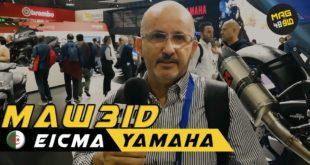 #Live Eicma 2019 | Rendez-vous avec SAKER Kheireddine de Yamaha Algérie