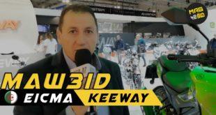 #Vidéo Eicma 2019 | Rendez-vous avec SAIGH Abdelkarim de Keeway Algérie