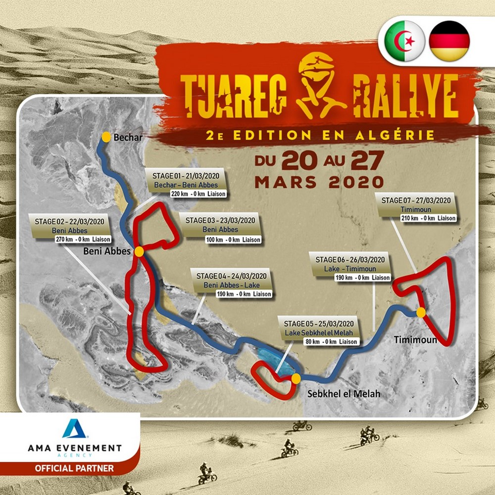 programme tuareg rally 2020