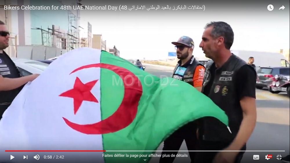 Motards Algériens : Célébration pour la 48ème Journée Nationale des Emirats Arabes Unis