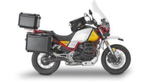 Givi équipe intégralement la Moto Guzzi V 85 TT