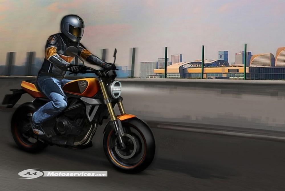 Un moteur Benelli dans la prochaine Harley-Davidson 350 Project