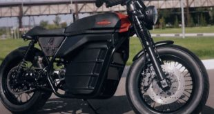 Kalashnikov présente un concept Café Racer électrique