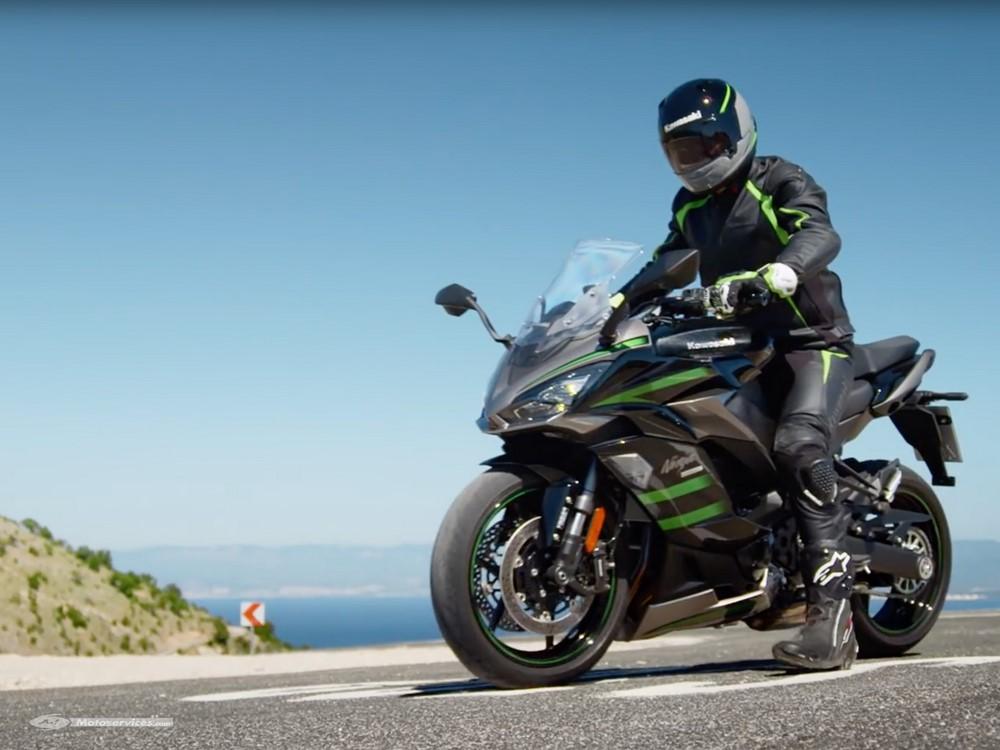 Plus de détails sur la Kawasaki Ninja 1000 SX